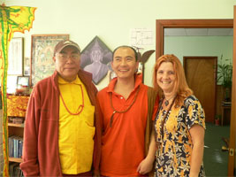 rinpoche, kunzang and me